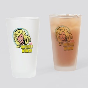 Invisible Woman Drinking Glass