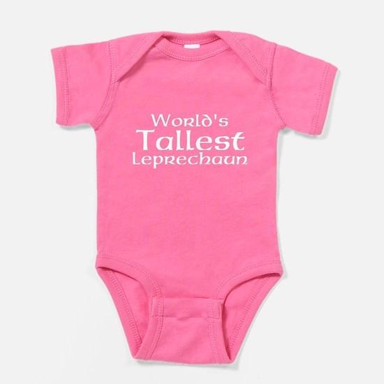 Worlds Tallest Leprechaun Baby Bodysuit