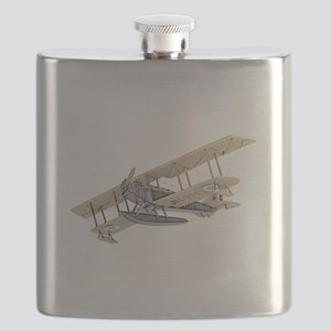 Curtiss JN-4 Jenny Float Plane Flask