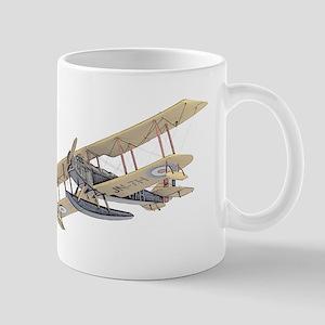 Curtiss JN-4 Jenny Float Plane Mugs