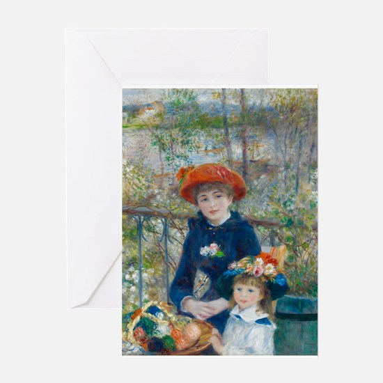Two Sisters Greeting Cards