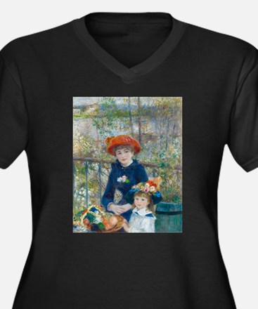 Two Sisters Plus Size T-Shirt