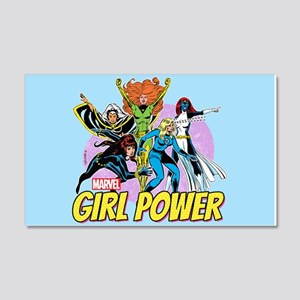 Marvel Girl Power 20x12 Wall Decal