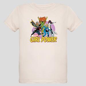 Marvel Girl Power Organic Kids T-Shirt