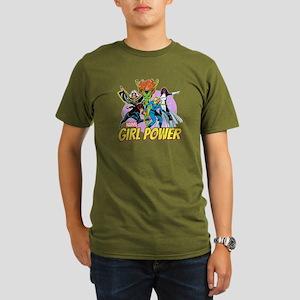 Marvel Girl Power Organic Men's T-Shirt (dark)