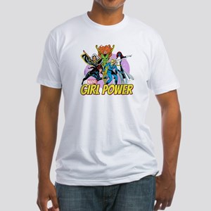 Marvel Girl Power Fitted T-Shirt