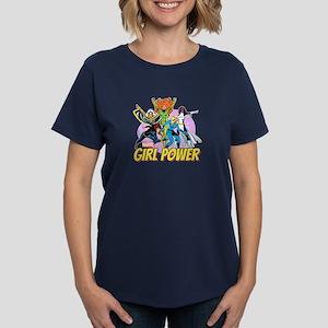 Marvel Girl Power Women's Dark T-Shirt