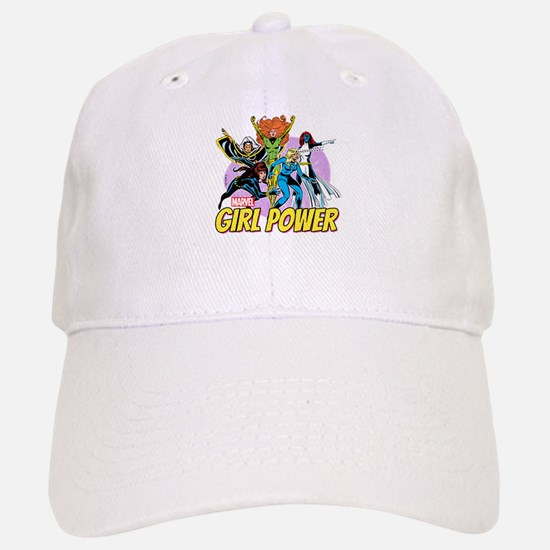 Marvel Girl Power Baseball Baseball Cap