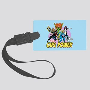Marvel Girl Power Large Luggage Tag