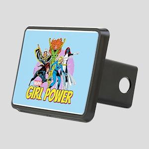 Marvel Girl Power Rectangular Hitch Cover