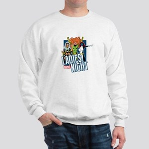 Marvel Ladies Night Sweatshirt