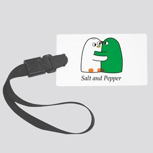Salt and Pepper Luggage Tag