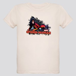 Spider-Woman Organic Kids T-Shirt