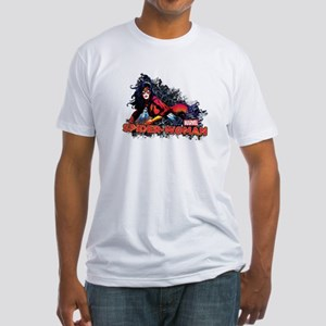 Spider-Woman Fitted T-Shirt