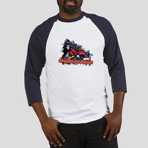 Spider-Woman Baseball Jersey