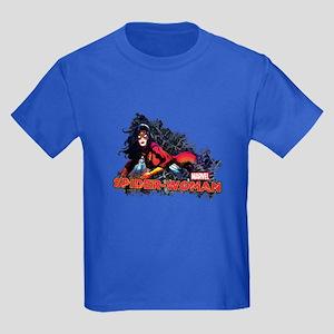 Spider-Woman Kids Dark T-Shirt