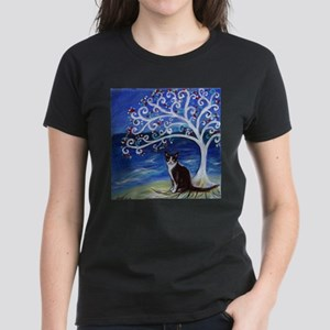 Tuxedo Cat Tree of Life T-Shirt