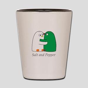 Salt and Pepper Shot Glass