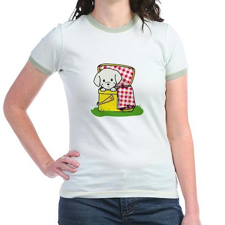 Puppy Picnic Jr. Ringer T-Shirt