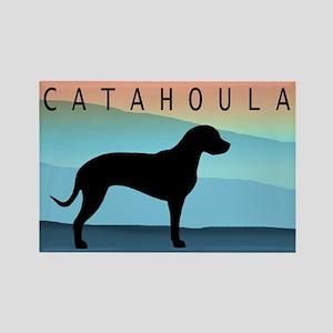 Catahoula Blue Mt. Rectangle Magnet