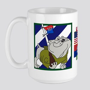 USA-3ID Rocky Bulldog - Large Mug