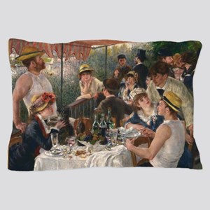 Luncheon of the Boating Party Pillow Case