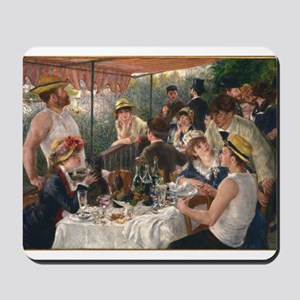 Luncheon of the Boating Party Mousepad