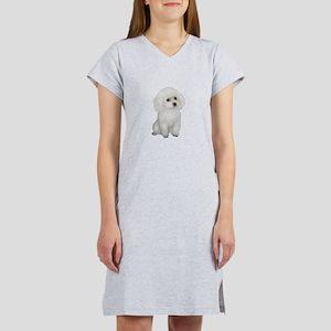 Poodle (MinW2) Women's Nightshirt