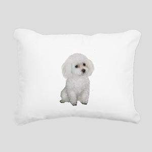 Poodle (MinW2) Rectangular Canvas Pillow