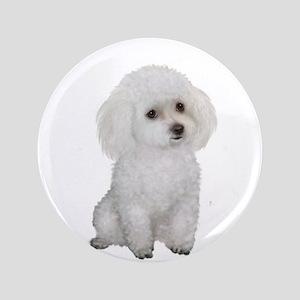 """Poodle (MinW2) 3.5"""" Button"""