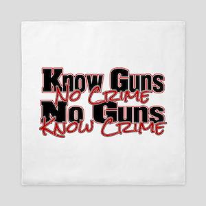 No Guns Queen Duvet