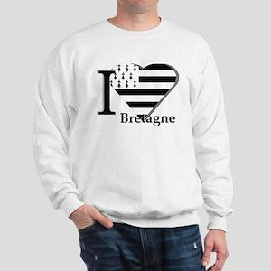 I love Bretagne Sweatshirt
