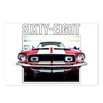 68 Mustang Postcards (Package of 8)