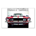 68 Mustang Sticker