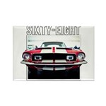 68 Mustang Magnets