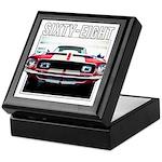 68 Mustang Keepsake Box