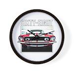 68 Mustang Wall Clock