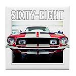 68 Mustang Tile Coaster