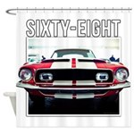 68 Mustang Shower Curtain