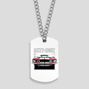 68 Mustang Dog Tags