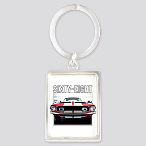 68 Mustang Keychains