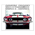 68 Mustang Posters