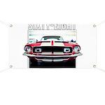 68 Mustang Banner