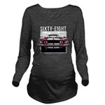 68 Mustang Long Sleeve Maternity T-Shirt