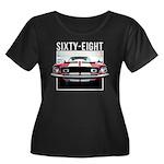 68 Mustang Plus Size T-Shirt