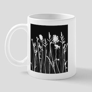 Elegant Grass Silhouette Mug