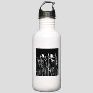 Elegant Grass Silhouet Stainless Water Bottle 1.0L