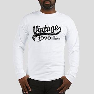 Vintage 1978 Long Sleeve T-Shirt