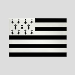 Brittany flag Rectangle Magnet