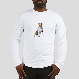 Am Bulldog 2 (Brn-W) Long Sleeve T-Shirt